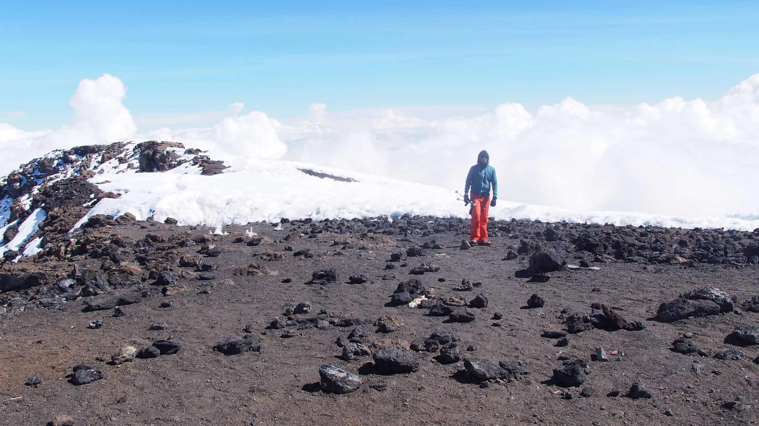Climbing Mt Kilimajaro whilst holding on to an empowring thought.