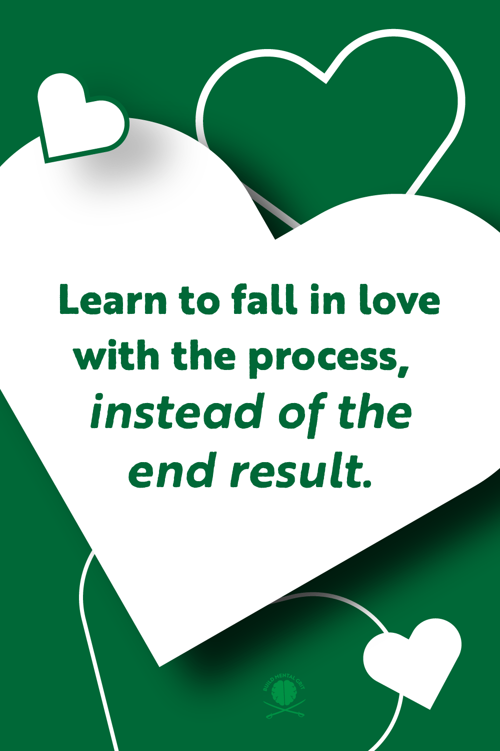 White-hearts-with-green-text-on-loving-the-process-at-age-30